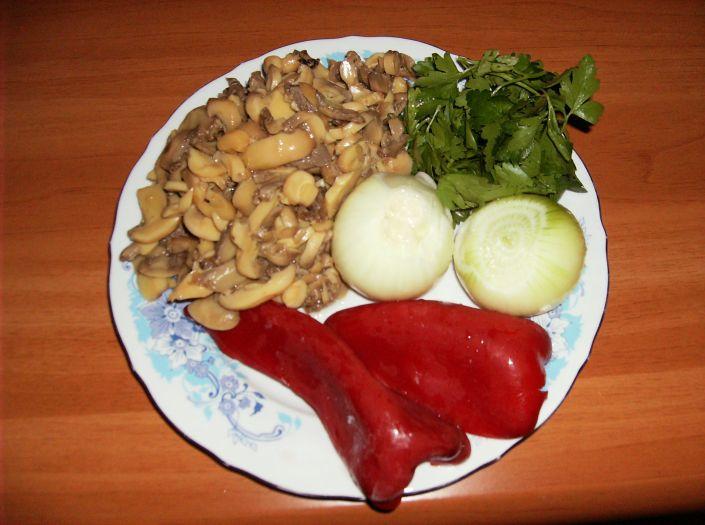 Pilaf de orez cu ciuperci 009