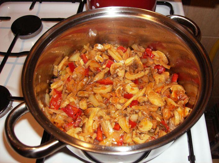 Pilaf de orez cu ciuperci 013