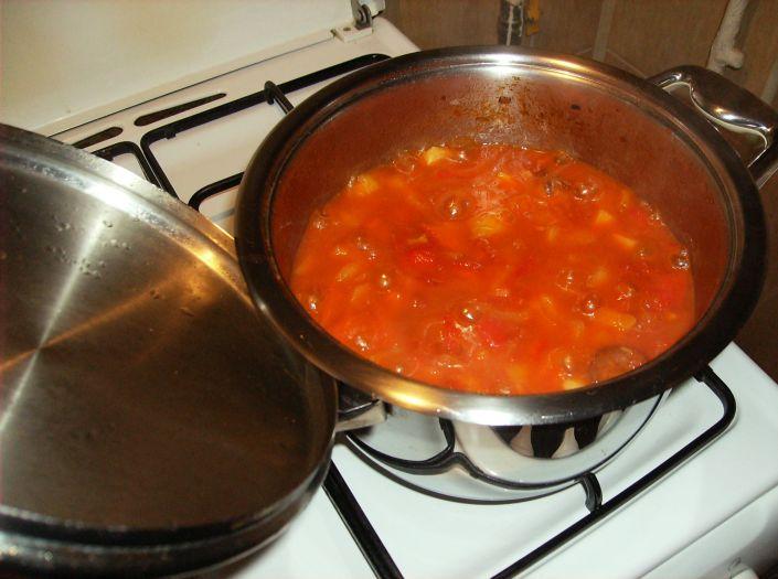 Ghiveci cu carnati in oala Zepter 039