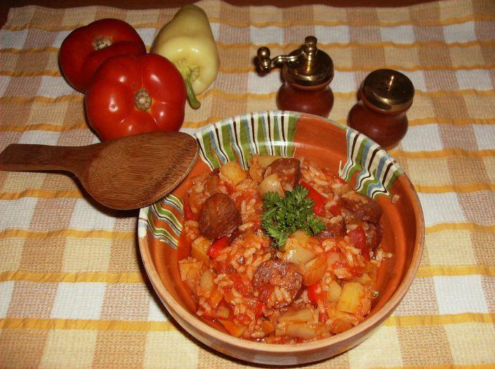 Ghiveci cu carnati in oala Zepter 049