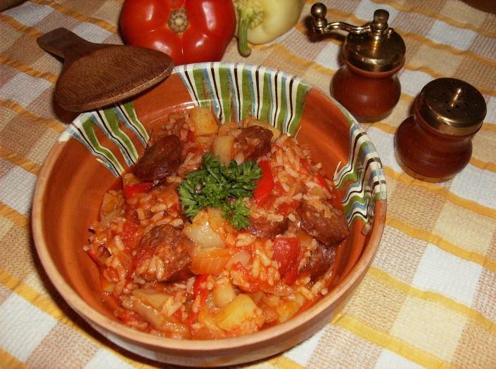 Ghiveci cu carnati in oala Zepter 059