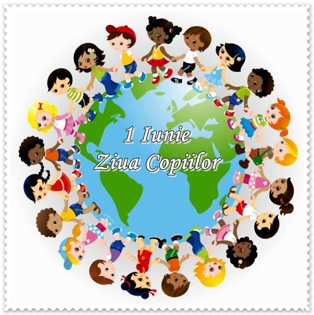 copii in jurul lumii felicitare 1 iunie